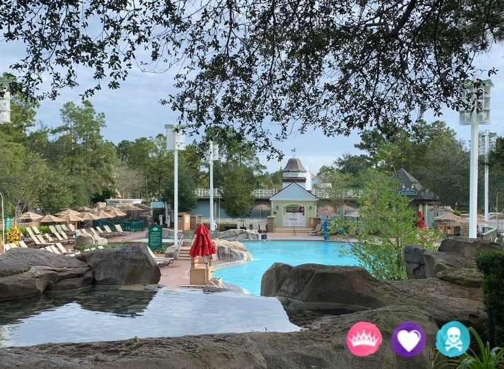 Disneys Saratoga Springs vs Old Key West - Pools Dining Options Rooms and Location
