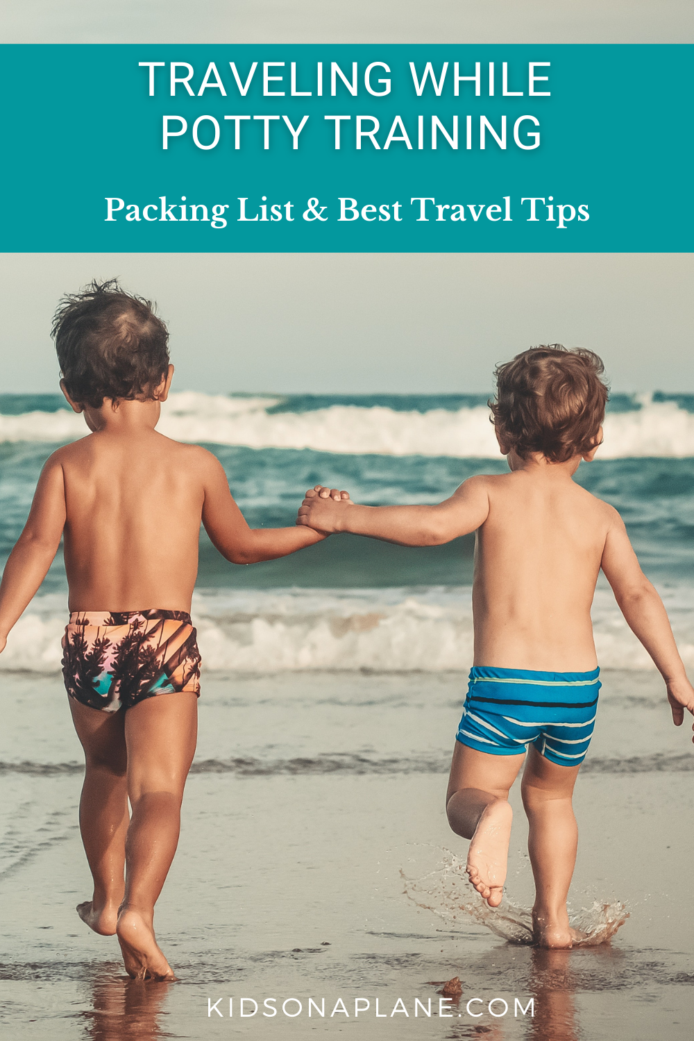 Potty Training Travel Tips and a Packing List for Parents with Toddlers