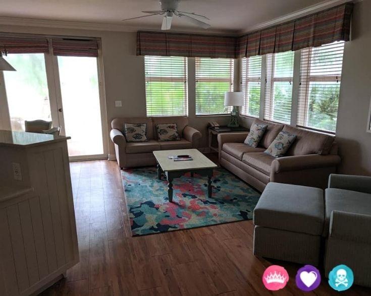 Room Options at Old Key West and Saratoga Springs Resort - Two Bedroom Villa at Disneys Old Key West Resort
