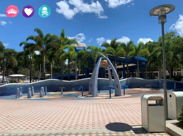 Splash Area at Disney Contemporary Resort - How to Choose between Contemporary and Bay Lake Tower at Disney World