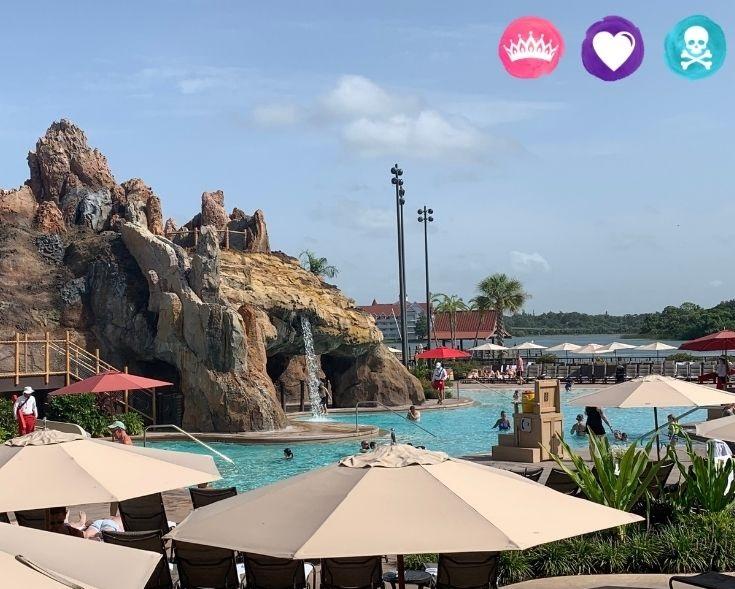 Choosing the Best Disney World Resort - Polynesian Village Resort Pools and Amenities