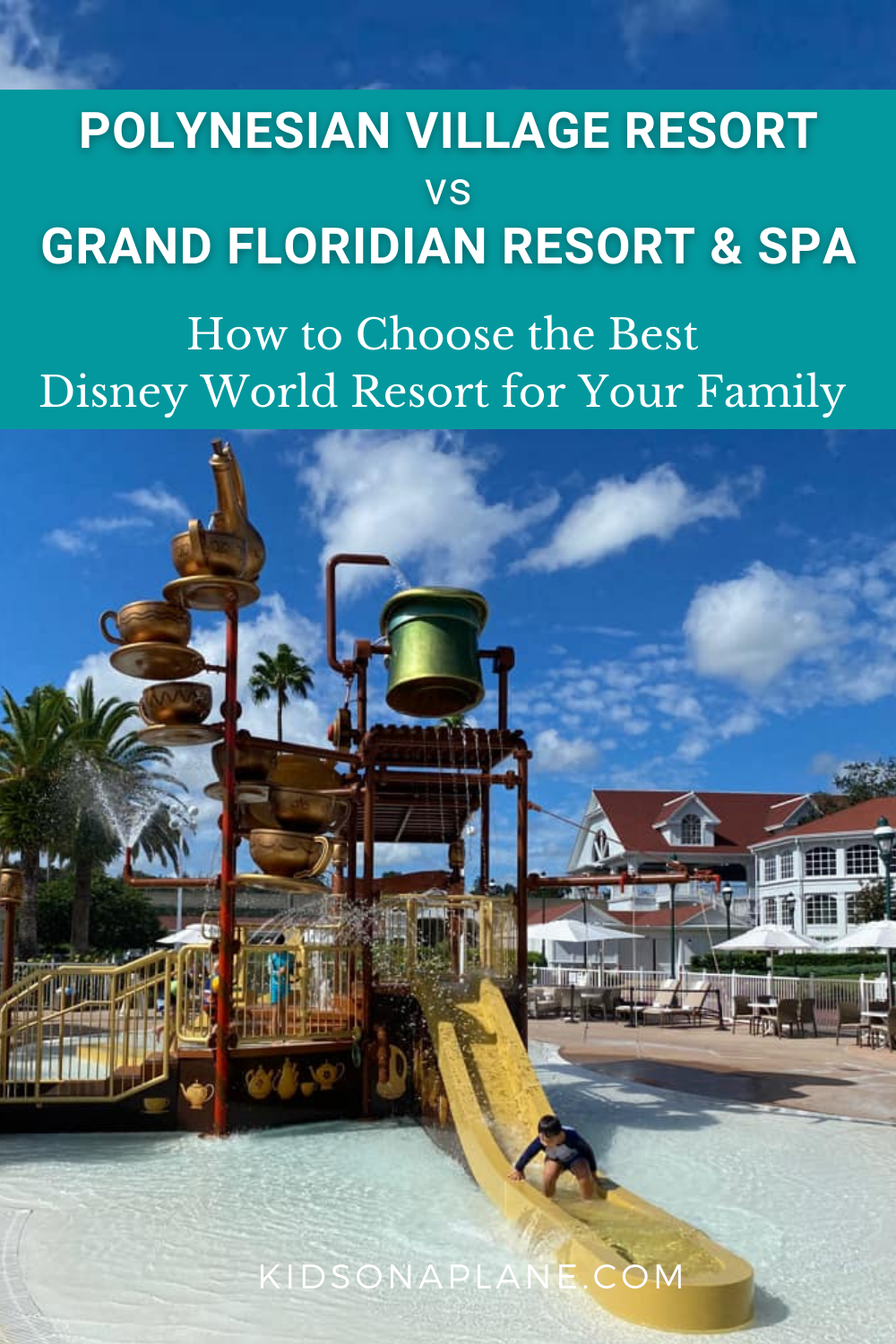 Disney World Polynesian Village Resort vs Grand Floridian - Which is the best deluxe resort for your family