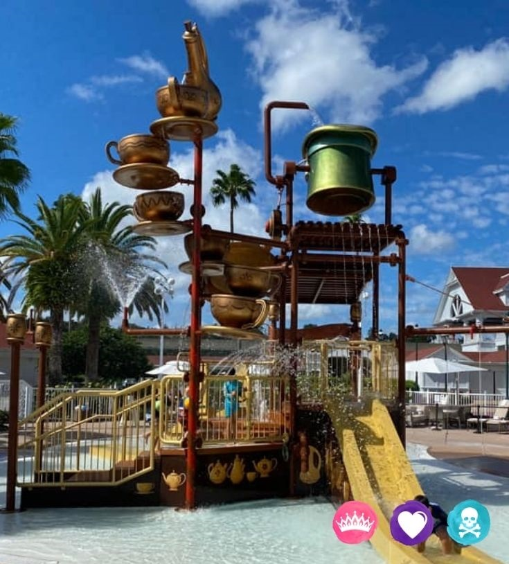 Grand Floridian Pools and Amenities - How to Choose the Best Disney World Resort for your Family