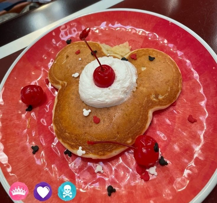 Chef Mickeys Pancake - Dining at Disney World with Toddlers Picky Eaters and Food Allergies